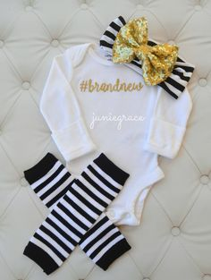 Baby Girl Coming Home Outfit Baby Girl Clothes Newborn Baby Girl Outfit Baby…