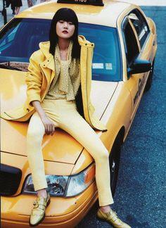 Monochromatic chic via Vogue China