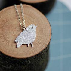 Simple Bird Necklace