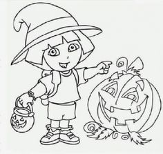 the awesome gorgeous halloween coloring pages nick jr httpcoloring alifiah