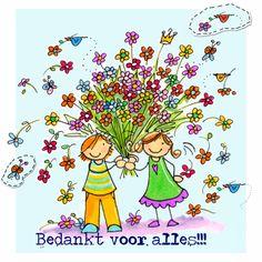 Afbeeldingsresultaat voor bedankt bloemen