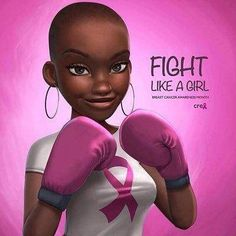 After skin cancer breast cancer is the second commonly diagnosed cancer in women in the US. One in eight women will develop breast cancer, according to the Black Love Art, Black Girl Art, My Black Is Beautiful, Black Girl Magic, Black Girls, Style Afro, Good Morning People, Black Girl Cartoon, Natural Hair Art