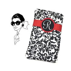 Personalized Glasses Case Monogrammed Black by SEWsationalStitches