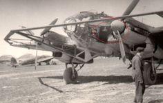 Foto Soldat Plane Flugzeug He111 Ballonabweiser Kennung Wappen Bomber Kanal #59 in Sammeln & Seltenes, Militaria, 1918-1945   eBay