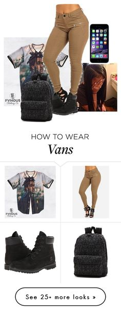 """""""Untitled #373"""" by alainnajones on Polyvore featuring xO Design, Timberland and Vans"""