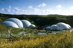 The Eden Project Biomes by Grimshaw Architects