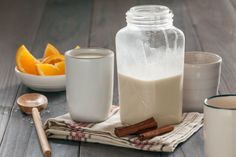 Brown Rice Horchata with Cinnamon and Orange | Whole Foods Recipe   http://www.wholefoodsmarket.com/recipe/4148