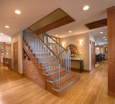 East Mountain Residence - contemporary - staircase - other metro - DxDempsey Architecture