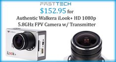 #FastTech Authentic Walkera iLook+ HD 1080p 5.8GHZ FPV Camera W/Transmitter For $152.95 #backpack #bags #shoulderbag #aceesories