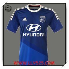 Acheter Boutique Officielle FFF Maillot de foot Olympique Lyonnais 2014 2015 Exterieur