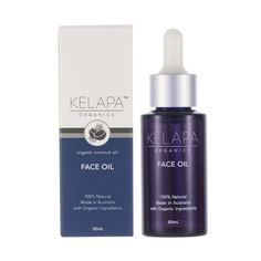 Organic Face Oil made with Coconut & Rosehip Face Oil that restores your youth and gives a hydrated glow to your complexion. Organic Coconut Oil, Organic Oil, Organic Skin Care, Natural Skin Care, Facial Oil, Jojoba Oil, Pure Products, Bottle, Face