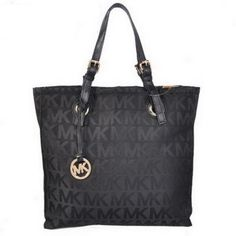 Michael Kors Jet Set Logo Large Black Tote [mk0000000643] - $55.99 : Michael Kors Outlet, Michael Kors Outlet Store