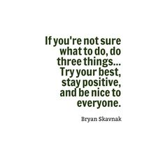 QUOTES ~ POSITIVE