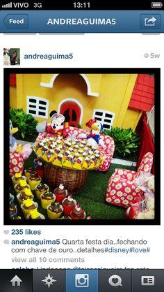 inspiracao Festa Mickey e Minnie