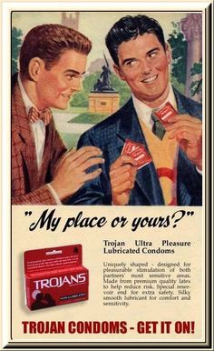 Vintage Condom Ads | old 1950 ULTREX CONDOM Vintage Rubber FULL Gift TIN! Description from pinterest.com. I searched for this on bing.com/images