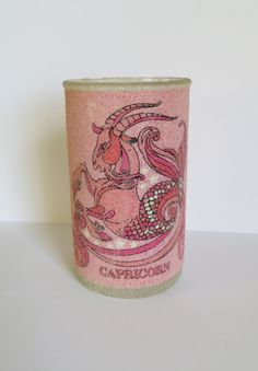 Collectible Zodiac Candle Holder Capricorn  by Iprefervintage