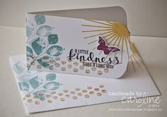 A little Kindness goes a long way  - teamSWAP Stampin' Up!  Kinda Eclectic