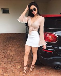 Summers are here and it's time that you have these Trendy Summer Outfits Ideas for Teen Girls to Try with a blend of every style! Look Fashion, Girl Fashion, Fashion Outfits, Trendy Fashion, Skirt Outfits, Cute Outfits, Sexy Dresses, Short Dresses, Trendy Summer Outfits