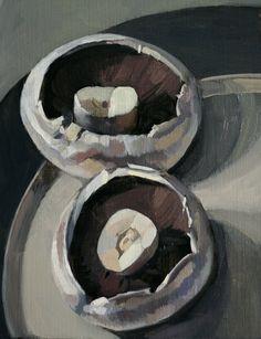 Mushrooms - by Sam Dalby