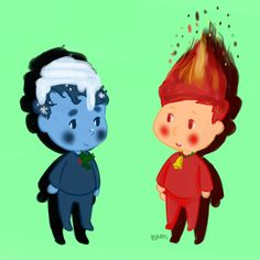 FirePhil and WaterDan- Dan and Phil Play: FIREBOY AND WATERGIRL