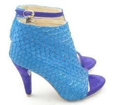 fish leather shoes