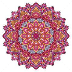 Mandala - Flowers & Plants Nature