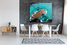 Excited to share this item from my #etsy shop: Supersized original abstract painting by Linda Karslake Paint Studio, Atlantis Bahamas, Painting Competition, Coving, Paradise On Earth, Amazing Sunsets, Paradise Island, Close To Home, Bespoke Furniture