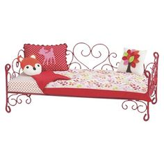 Our Generation Heart Love Bird Scroll Bed