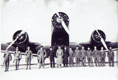 Eurasia Aviation Junkers Ju-52's and personnel in China  12-22-36