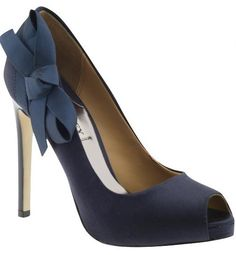 idea for bridesmaid shoes (in our colors of course)