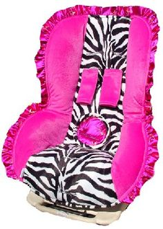 zebra carseat cover for when i have another princess probably adopted because