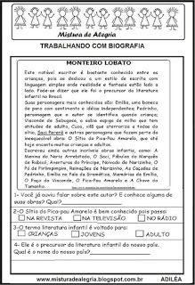 Biografia de Monteiro Lobato