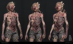 Apocalypse World, Post Apocalypse, Zombie Cosplay, The Last Of Us2, Sci Fi, Creatures, Statue, Artwork, Creepy