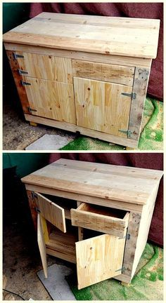 decent pallet wooden idea
