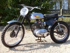 1959 BSA Scrambler - Classic and Vintage Motorcycles - 1959 BSA Scrambler Motocross Bikes, Scrambler Motorcycle, Cool Motorcycles, Vintage Motorcycles, Scrambler Ride, Rugged Look, Touring Bike, Old Bikes, Dirtbikes