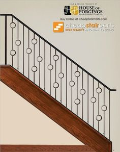 16.1.30 Single Ring Ends: 1/2″ Sq. Height: 44″ Wt. 3.4 lbs. Pairs with: All 1/2″ Sq. balusters The 16.1.30 is an iron baluster that features a single 4″ ring. This baluster is solid wrought iron and is 1/2″ square. This single ring baluster pairs with all other half inch products.
