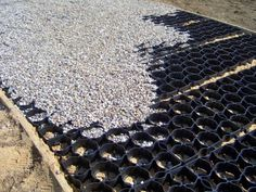 Ground Reinforcement   Recycled Plastic