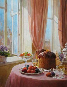 Светлый праздник – картина художника Андрея Шишкина