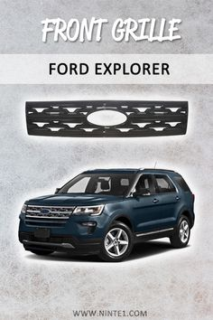 Car accessories for Ford Explorer: Front Grille Snap On Hood Grills Gloss Black. Must have car customization and decoration accessories. Put it on your car essentials list. A breathe of fresh air for your Ford Explorer. Must Have Car Accessories, Ford Explorer Accessories, 2019 Ford Explorer, Car Essentials, Grills, Custom Cars, Decorative Accessories, Turning, Breathe