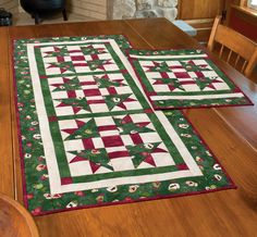 """""""Winter Warmth"""" by Michele Crawford (from The Quilter Quilting for Christmas Holiday 2012 issue)"""