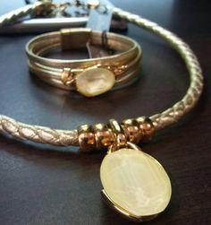 #jewelry #joya #altabisuteria #dorado #Swarovski #yellow #piel #hechoamano #hechoconcariño #hechowithlove