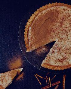 A classic milk tart with a healthy dusting of cinnamon for #milktartweek Custard Recipes, Tart Recipes, Curry Recipes, Cooking Recipes, Salted Caramel Fudge, Salted Caramels, Milk Tart, Pastry Shells, South African Recipes