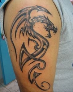Shaded dragon