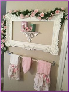 Shabby Chic home decor ideas number 8108815514 to plan with for one really smashing, charming decor. Kindly press the shabby chic home decor vintage webpage this second for more ideas. Chic Bathrooms, Shabby Chic Decor Bedroom, Shabby Chic Bathroom Decor, Chic Furniture, Chic Home Decor, Shabby, Shabby Chic Homes, Shabby Chic Christmas, Shabby Chic Room
