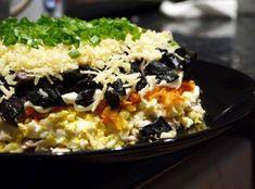Салат с курицей и черносливом слоеный рецепт 👌 с фото пошаговый