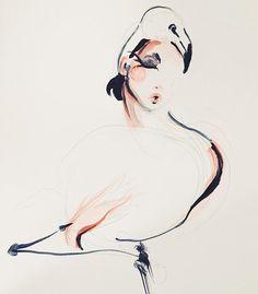 Flamingo hug II. Katie Rodgers