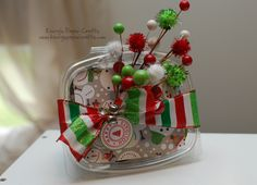 Holiday Candy Containers