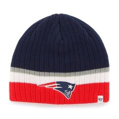New England Patriots Youth Buddy Beanie Cap