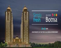 Gulshan Botnia offers 2 BHK and 3 BHK luxurious apartments with excellent features.