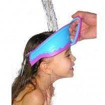 Safe Shampoo Shower Bathing Bath Protect Soft Cap Hat For Baby Child Kid